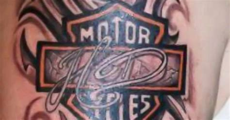 tribal harley davidson tattoos tribal harley davidson shared by our fan hommie v