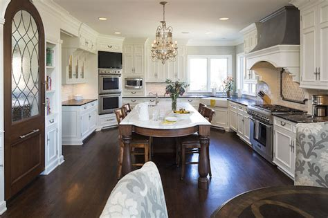 Corner Ovens   Transitional   kitchen   Hendel Homes