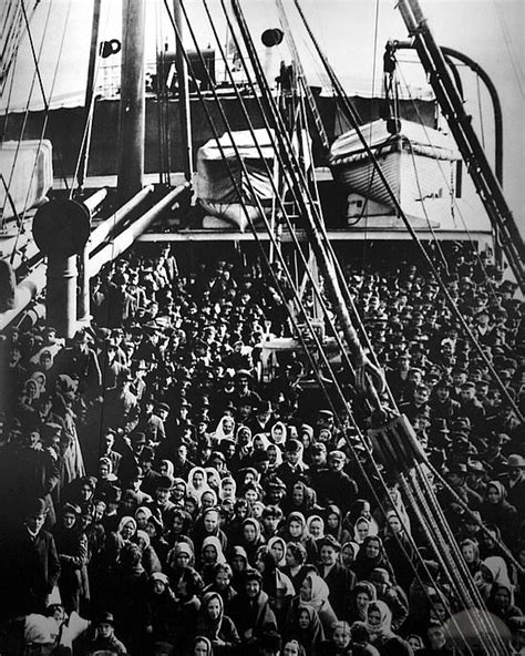 immigration boats 1800s ellis island arriving boat packed by travelpod member