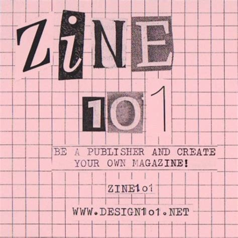 zine layout online zine 1o1 an introduction to fanzine online course series