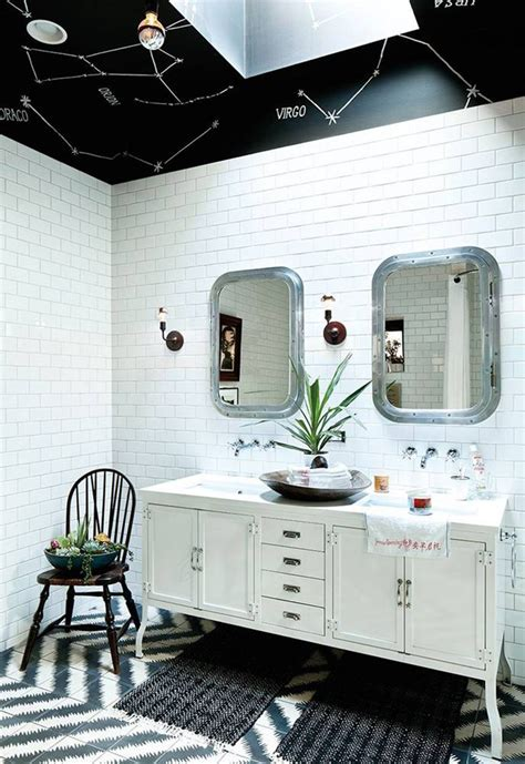 Black White And Green Bathroom by What Your Spirit Bathroom Is According To Personality Type