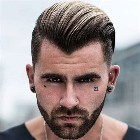 hair styles for v shaped back hair line 17 best widow s peak hairstyles for men