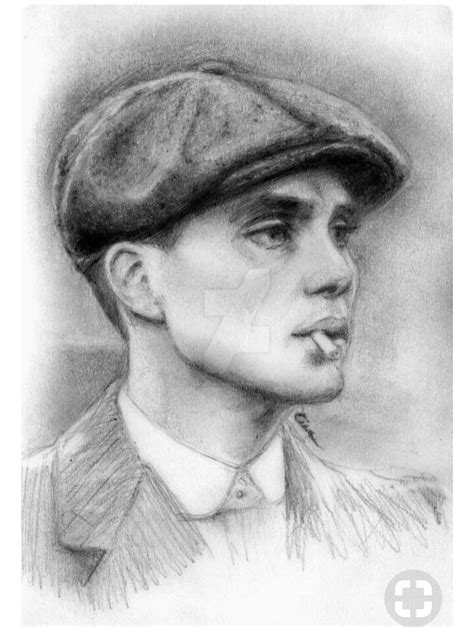 cillian murphy tattoo shelby drawing peaky blinders dessin