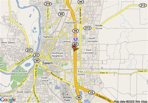 map of salem oregon 28 maps salem oregon map of inn suites south