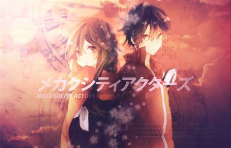 wallpaper anime mekakucity actors wallpaper mekakucity actors by riezero on deviantart