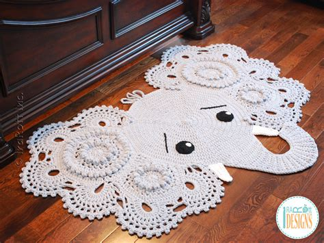 Crochet Elephant Rug Buy by Josefina And Jeffery Elephant Rug Pdf Crochet Pattern