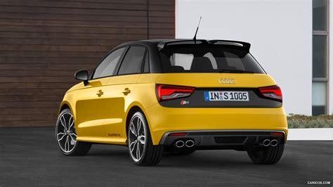 audi  sportback vegas yellow rear hd wallpaper