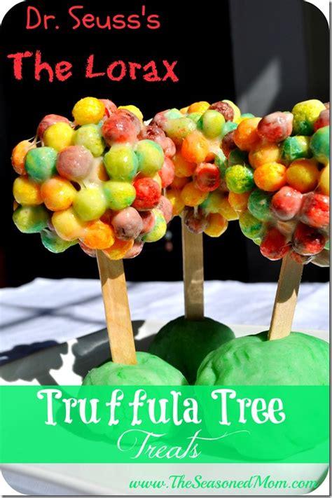 tree snacks dr seuss lorax truffula tree treats