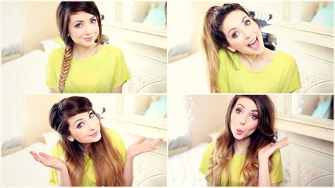 zoella quick hairstyles for school zoella 2013 vidcon schedule youtuber news