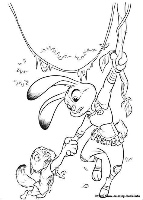 coloring pages for zootopia zootopia coloring pages coloring home