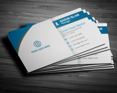 New Visiting Card Design 2015
