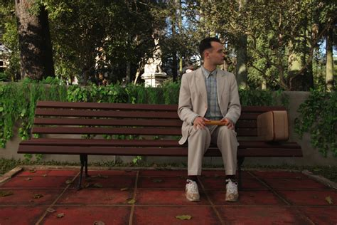 forrest gump park bench scene in defense of forrest gump flavorwire