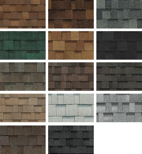 owens corning shingles colors shingles oakridge from owens corning in 2019 roofing
