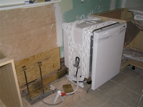 Plumbing A Dishwasher by An Unproductive Weekend Bradaptation