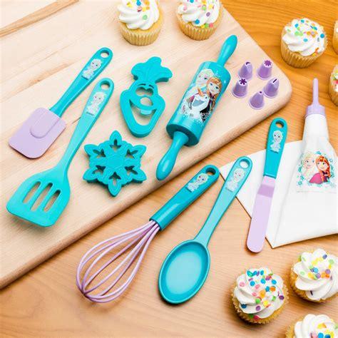 disneys frozen kids baking set  sale princess elsa zak zak designs