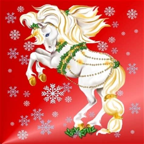christmas unicorn unicorns photo  fanpop