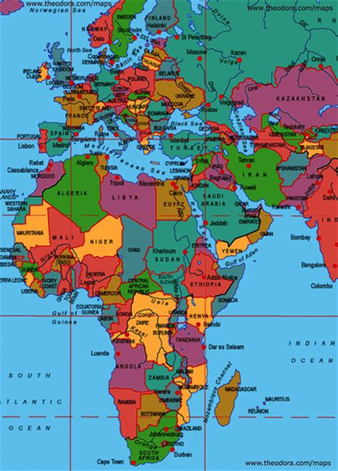 map of europe and africa with countries maps of europe middle east africa region emea flags