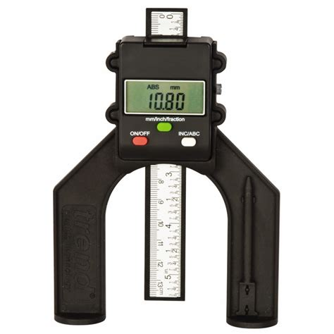 saw benches trend gauge d60 digital depth gauge for routers tables saw benches powertool world