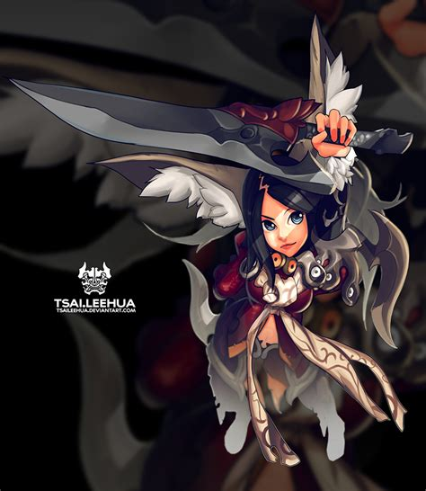 The M F Blade by 007 M F Blade And Soul By Tsaileehua On Deviantart
