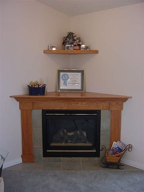 corner fireplace surrounds our standard corner gas