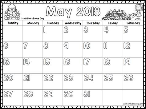 monthly calendar template preschool enchanting preschool monthly calendar template inspiration