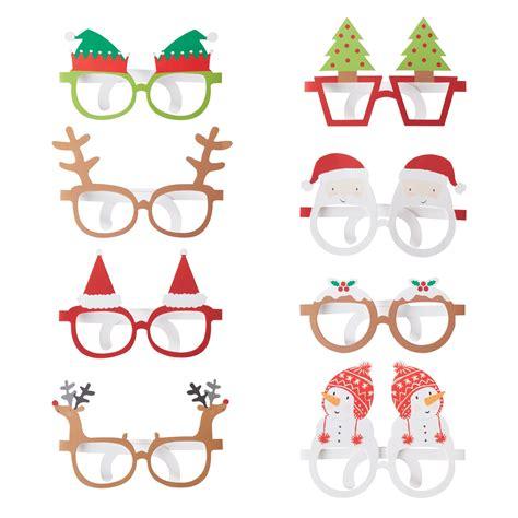 amazon uk christmas novelties wholesale novelty funglasses glasses photo booth prop ebay
