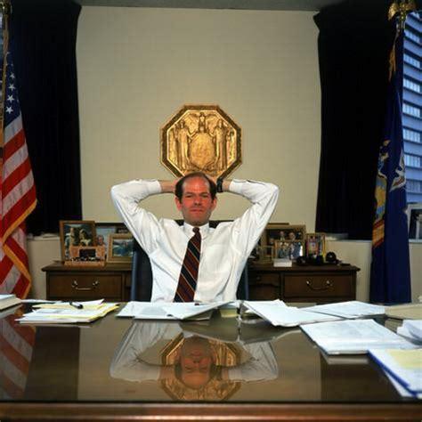 new york attorney general eliot spitzer in his manhattan