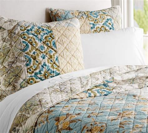 Potterybarn Quilts by Kennedy Patchwork Quilt Sham Pottery Barn