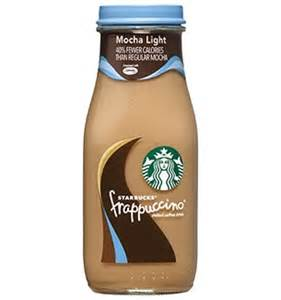 Light Starbucks Drinks Starbucks 174 Bottled Mocha Light Frappuccino 174 Coffee Drink