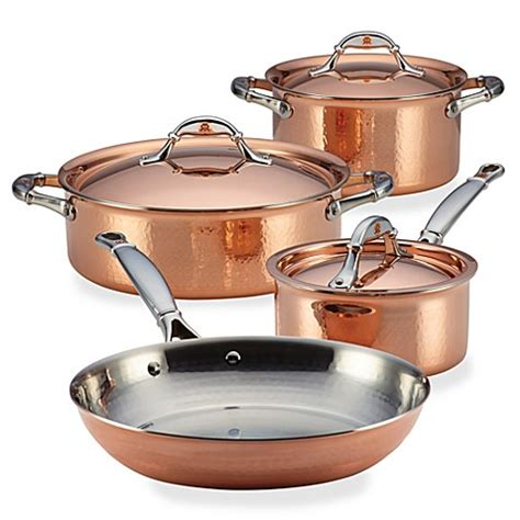 copper cookware set buy ruffoni symphonia cupra 7 copper cookware set from bed bath beyond