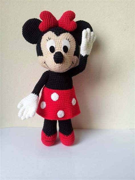 minnie mouse doll knitting pattern minnie mouse 9 handmade crochet doll birthday by