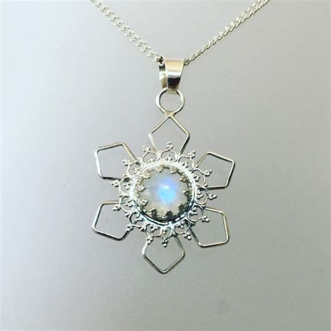 Sterling Silver Snowflake Pendant 21 snowflake pendant jewelry designs ideas design