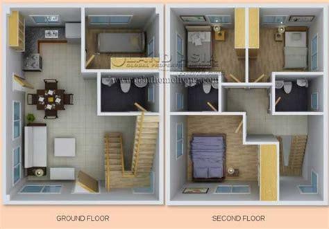 2 Bedroom Duplex Floor Plans ajoya in lapu lapu city quality houses made affordable