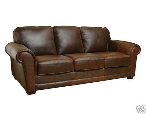 New Leather Sofas Italia Leather Furniture New Italian Chocolate Brown Distressed Leather Sofa