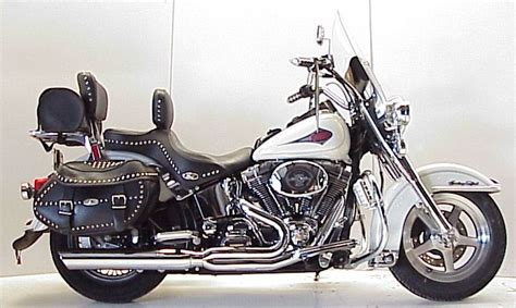 d and d motor systems d d harley heritage softail cat 2 into 1 exhaust