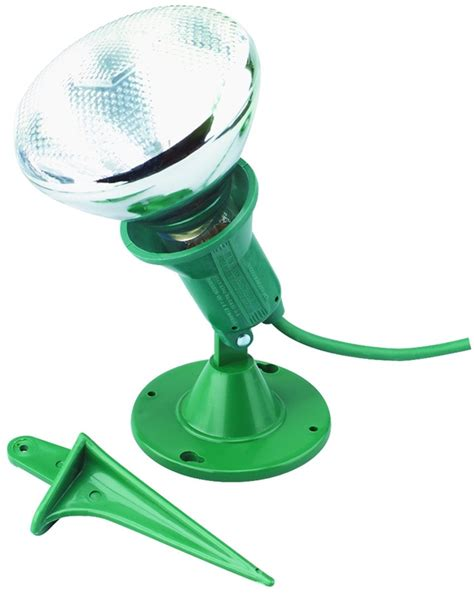 outdoor flood l light holder with ground stake plastic flood light w stake