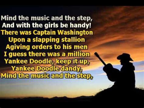 did yankee doodle name the feather hat town or his pony macaroni dla dzieci yankee doodle faster with backing melody