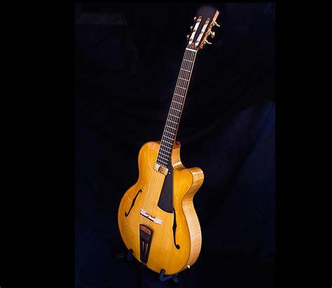 Handmade Archtop Guitars - luthier alan simcoe custom archtop hallowbody jazz