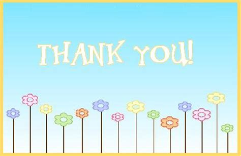 Thank You Templates thank you card template new calendar template site