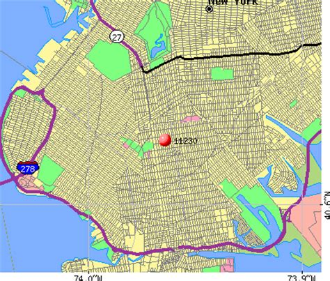 zip code map brooklyn brooklyn neighborhood map with zip codes images