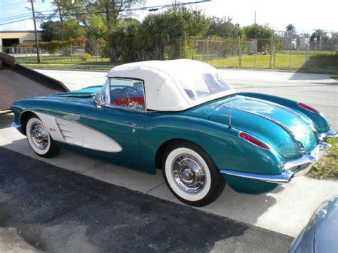 1958 corvette restoration 1958 corvette 283 ci 270 hp restoration