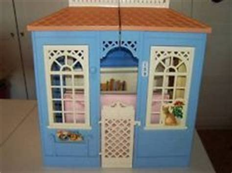 folding barbie doll house vintage mattel 1998 cottage barbie doll house dream fold up dollhouse 159 barbie