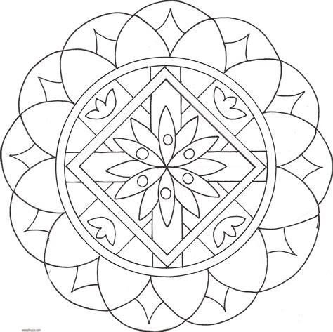 imagenes de mandalas lindos para colorear dibujos de mandalas para colorear