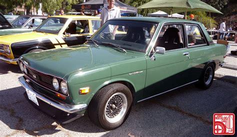 Hotwheels Datsun Green events eagle rock meet japanese nostalgic car
