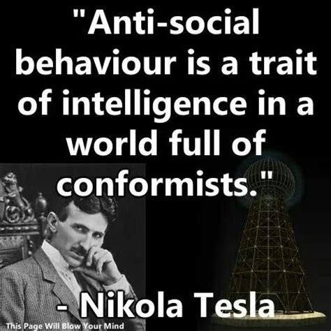 Nikola Tesla Quotes Non Conformist Quotes Citati This