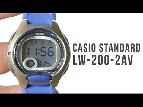 Jam Tangan Casio Original Aw80 1av casio standard lw 200 4a doovi