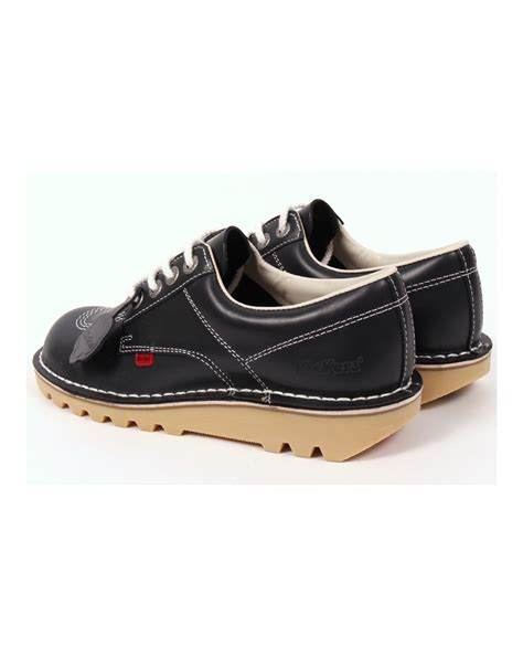 kickers shoes kickers kick lo shoes navy blue kickers kick lo leather