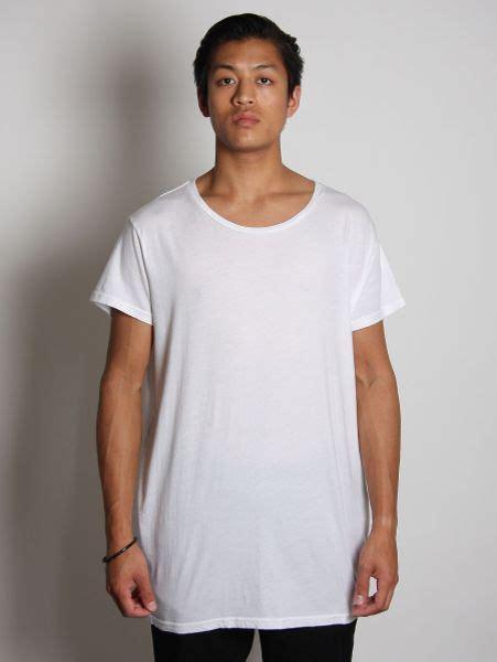 rxmance mens basic oversized t shirt in white for lyst