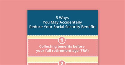 5 Ways You May Accidentally Reduce Your Social Security