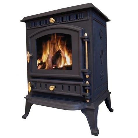 Efficient Wood Burning Stove Cast Iron Multifuel Efficient Log Burner Wood Coal Burning